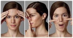 Uprazhnenija dlja podtjazhki lica